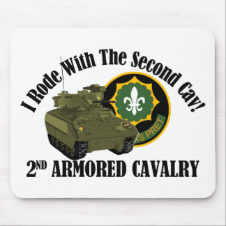 I Rode With The 2nd ACR!  Bradley Mouse Pad