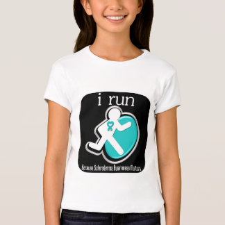i Run Because Scleroderma Matters T-shirts