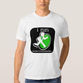 i Run Because Spinal Cord Injury Matters Tshirts