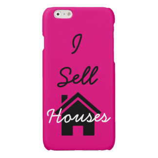 I sell houses realtor cell phone case iPhone 6 plus case