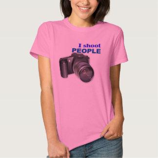 'I Shoot People' Photography T-Shirt