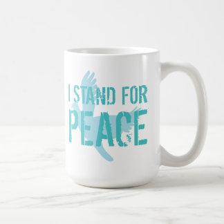 """I stand for peace"" Mug"