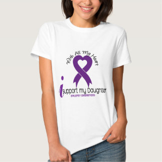 I Support My Daughter Epilepsy Shirts