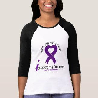 I Support My Grandson Epilepsy Tee Shirt