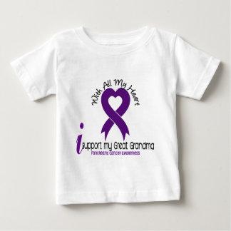 I Support My Great Grandma Pancreatic Cancer Tshirts
