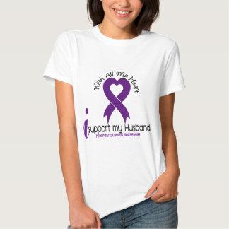I Support My Husband Pancreatic Cancer Tees