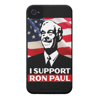 I Support Ron Paul for President in 2012 iPhone 4 Cases