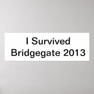 I Survived Bridgegate 2013 Poster
