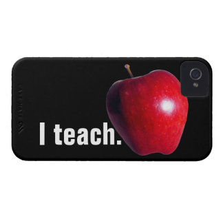 """I teach."" iPhone4 Case-Mate ID CASE"