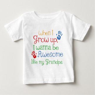 I Wanna Be Awesome Like My Grandpa Shirt