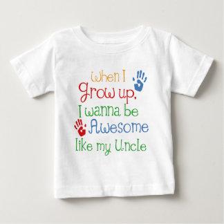 I Wanna Be Awesome Like My Uncle Shirt