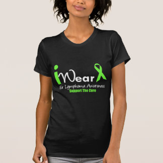 I Wear Lime Green For Lymphoma Awareness Shirts