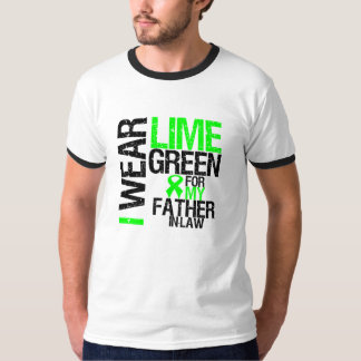 I Wear Lime Green For My Father-in-Law Lymphoma Shirt