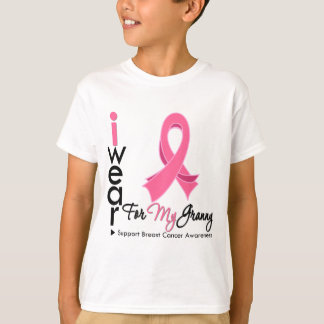 I Wear Pink For My Granny Breast Cancer Tees