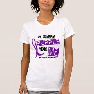 I Wear Purple For Me 37 Epilepsy T Shirt