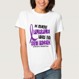 I Wear Purple For My Best Friend 37 Epilepsy Shirts