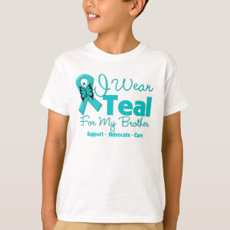 I Wear Teal For My Brother Tees