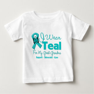 I Wear Teal For My Great-Grandma Shirt