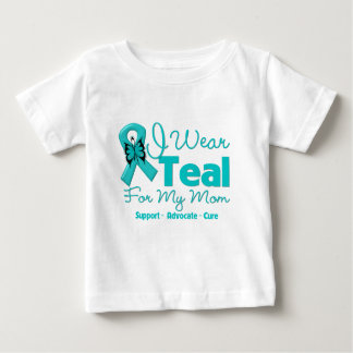 I Wear Teal For My Mom T Shirts