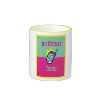 Ice Cream soda Ringer Mug