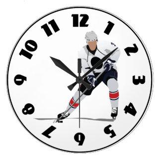 Ice Hockey Player Clock