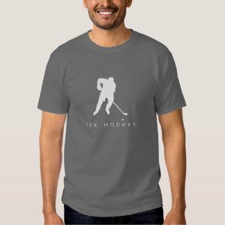 Ice Hockey Silhouette T-Shirt