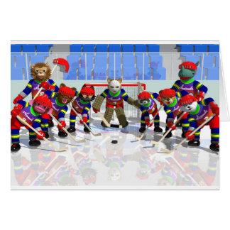 icehockey note card