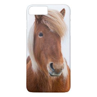 Icelandic Horse during winter  2 iPhone 7 Plus Case