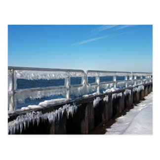 Icicles Postcard