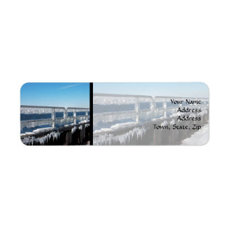 Icicles Return Address Label