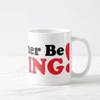 I'd Rather be Fishing - Red Basic White Mug