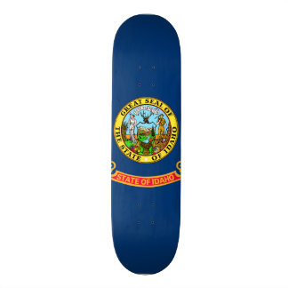 Idaho State Flag 20.6 Cm Skateboard Deck