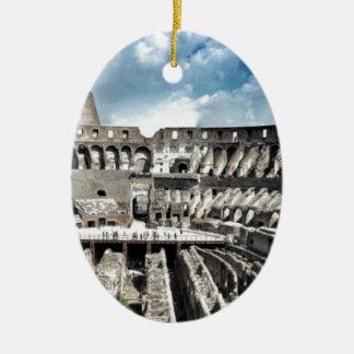 Il Colosseo I gave Rome Ceramic Oval Decoration