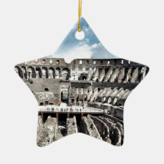 Il Colosseo I gave Rome Ceramic Star Decoration
