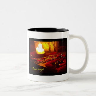 Illuminate the night Two-Tone mug