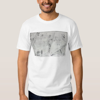 Illustration of Painting and Decorating Shirt