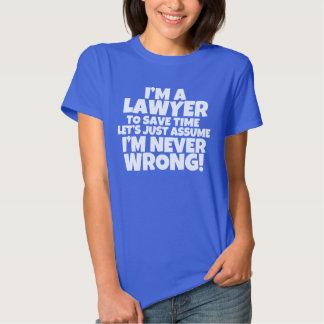 I'm a Lawyer Women's shirt