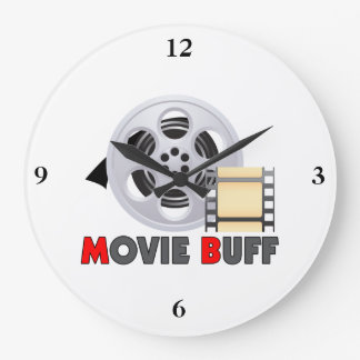 I'm A Movie Buff Clocks
