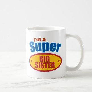 I'm a Super Big Sister Basic White Mug