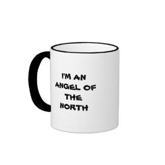 I'M AN ANGEL OF THE NORTH RINGER MUG