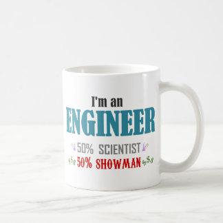 I'm an to engineer basic white mug