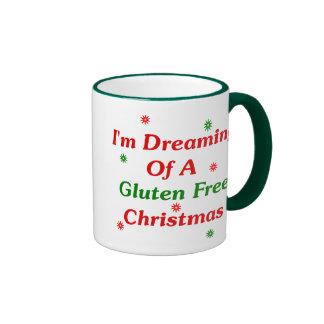 I'm Dreaming Of A Gluten Free Christmas Ringer Mug