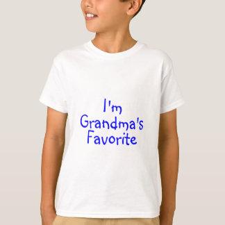 Im Grandmas Favorite Blue T Shirts