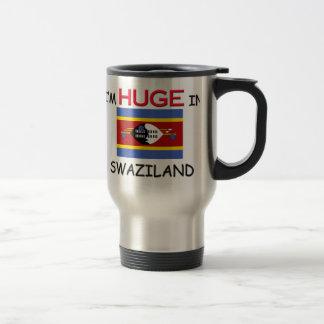 I'm HUGE In SWAZILAND Stainless Steel Travel Mug