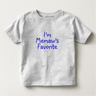 Im Memaws Favorite Blue T-shirt
