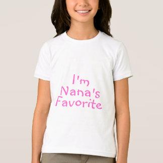 Im Nanas Favorite Tee Shirt