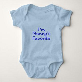 Im Nannys Favorite Blue Infant Creeper