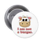 I'm Not a Burger 6 Cm Round Badge