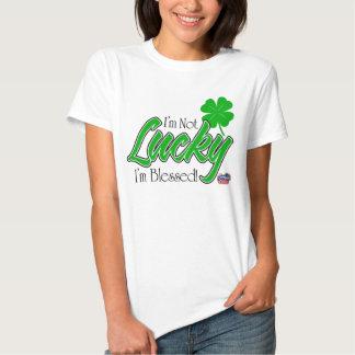 I'm Not Lucky, I'm Blessed! Irish Shirt