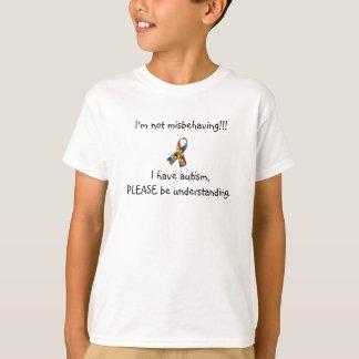 Im not misbehaving - autism t shirt